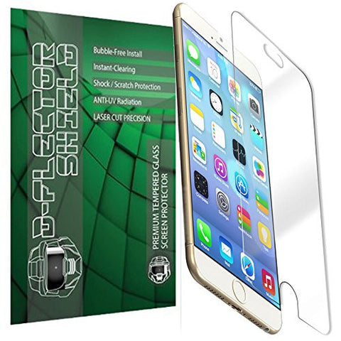 D-Flectorshield Superior Ballistic Anti-Shock CASE FRIENDLY Tempered Glass Screen Protector for the Apple iPhone 6 4.7'