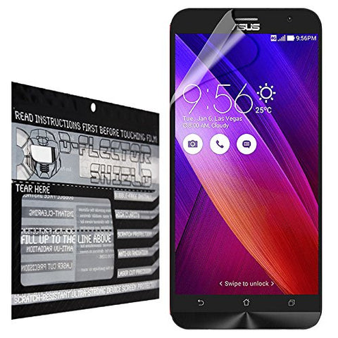 D-Flectorshield Asus ZenFone 2 Scratch Resistant Screen Protector - Free Replacement Program