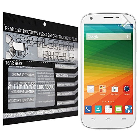 D-Flectorshield ZTE Imperial 2 Scratch Resistant Screen Protector - Free Replacement Program