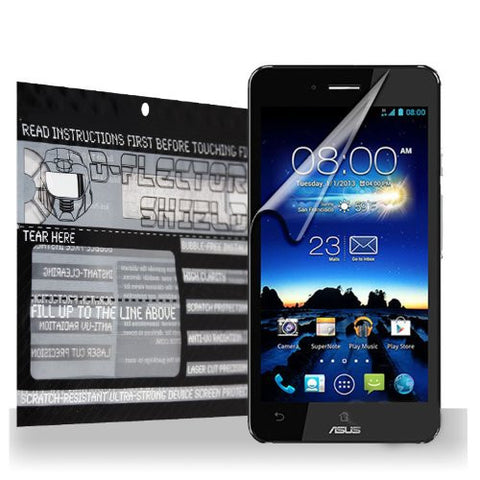 D-Flectorshield Asus PadFone X Scratch Resistant Screen Protector - Free Replacement Program