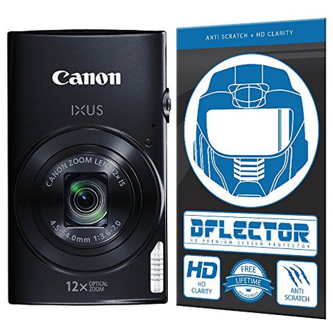 DFlectorshield Screen Protector for the Canon IXUS 170 with free lifetime replacement program