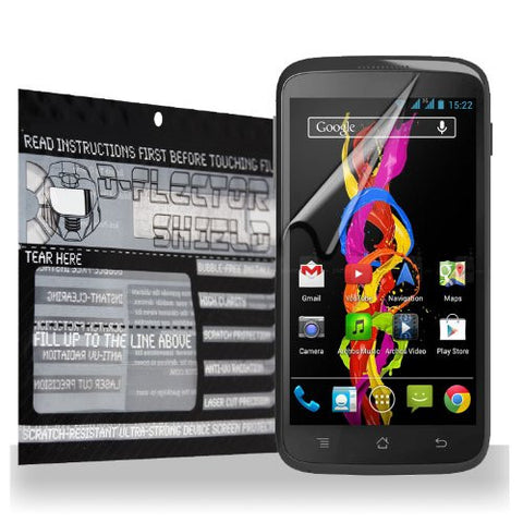 D-Flectorshield Archos 40 Titanium Scratch Resistant Screen Protector - Free Replacement Program