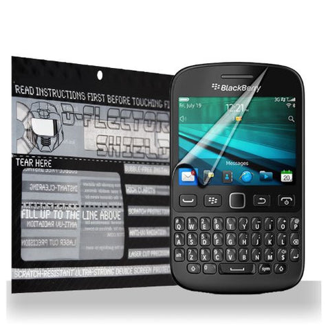 D-Flectorshield BlackBerry 9720 Scratch Resistant Screen Protector - Free Replacement Program