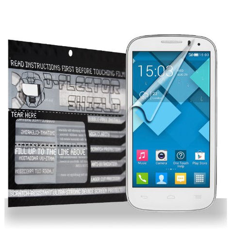 D-Flectorshield Alcatel One Touch Pop 8 Scratch Resistant Screen Protector