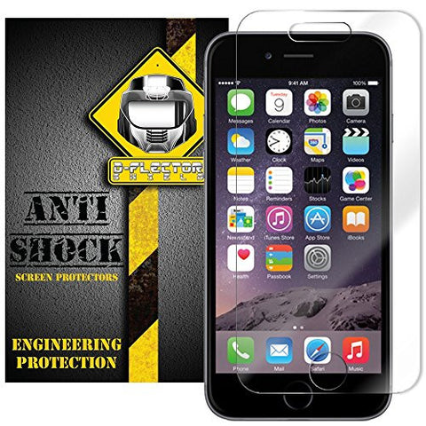 D-Flectorshield Apple iPhone 6+ iPhone 6 Plus Anti-Shock/military grade/ TPU /Premium Screen Protector / self healing / oleophobic material / EZ install / ultra high definition / scratch proof / bubble free install / precise laser cuts