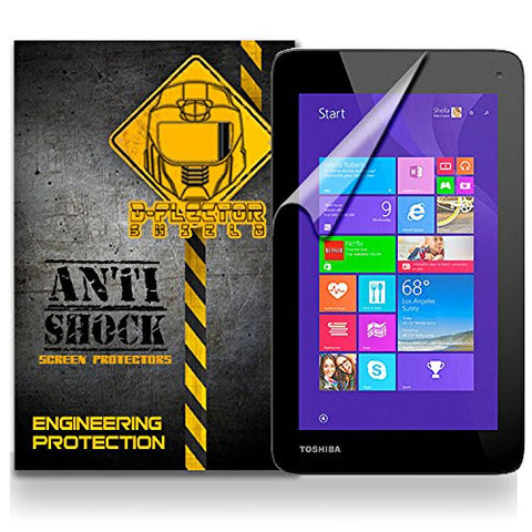 Toshiba Encore Mini WT7-C16 Anti-Shock/military grade/ TPU /Premium Screen Protector / self healing / oleophobic material / EZ install / ultra high definition / scratch proof / bubble free install / precise laser cuts