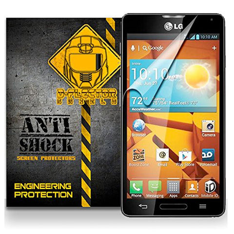D-Flectorshield LG OPTIMUS F7 LG870 Anti-Shock/military grade/ TPU /Premium Screen Protector / self healing / oleophobic material / EZ install / ultra high definition / scratch proof / bubble free install / precise laser cuts