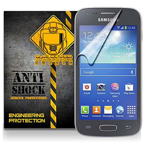 D-Flectorshield Samsung Galaxy Ace 3 Anti-Shock/military grade/ TPU /Premium Screen Protector / self healing / oleophobic material / EZ install / ultra high definition / scratch proof / bubble free install / precise laser cuts