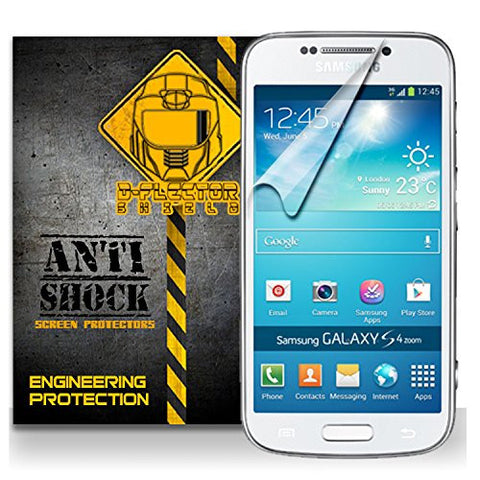D-Flectorshield Samsung Galaxy S4 Anti-Shock/military grade/ TPU /Premium Screen Protector / self healing / oleophobic material / EZ install / ultra high definition / scratch proof / bubble free install / precise laser cuts