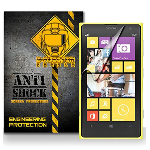 D-Flectorshield Nokia 1020 Anti-Shock/military grade/ TPU /Premium Screen Protector / self healing / oleophobic material / EZ install / ultra high definition / scratch proof / bubble free install / precise laser cuts
