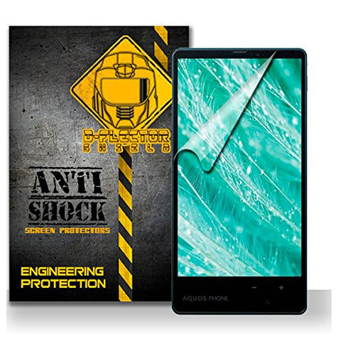 D-Flectorshield Sharp Aquos XX Mini Anti-Shock/military grade/ TPU /Premium Screen Protector / self healing / oleophobic material / EZ install / ultra high definition / scratch proof / bubble free install / precise laser cuts