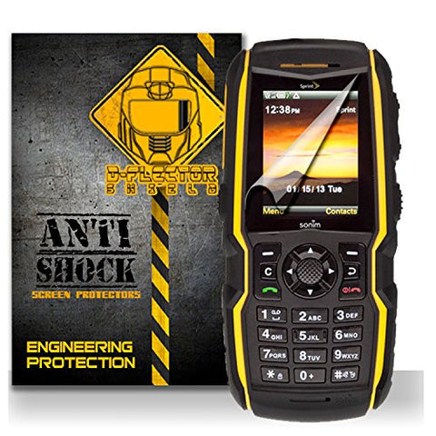 D-Flectorshield Sonim Xp Strike Sprint Anti-Shock/military grade/ TPU /Premium Screen Protector / self healing / oleophobic material / EZ install / ultra high definition / scratch proof / bubble free install / precise laser cuts