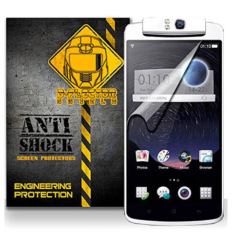 D-Flectorshield Oppo N1 Anti-Shock/military grade/ TPU /Premium Screen Protector / self healing / oleophobic material / EZ install / ultra high definition / scratch proof / bubble free install / precise laser cuts
