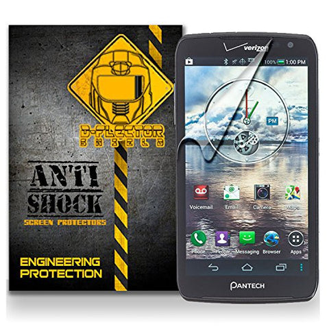 D-Flectorshield PANTECH PERCEPTION Anti-Shock/military grade/ TPU /Premium Screen Protector / self healing / oleophobic material / EZ install / ultra high definition / scratch proof / bubble free install / precise laser cuts