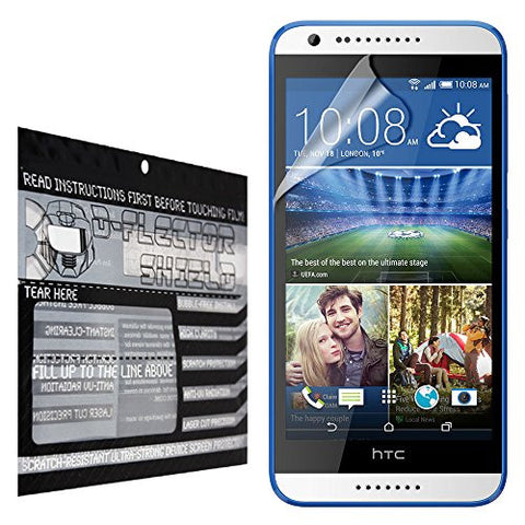 D-Flectorshield HTC Desire 620 Scratch Resistant Screen Protector - Free Replacement Program
