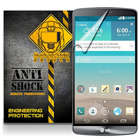 D-Flectorshield LG G3 D855 D850 Anti-Shock/military grade/ TPU /Premium Screen Protector / self healing / oleophobic material / EZ install / ultra high definition / scratch proof / bubble free install / precise laser cuts