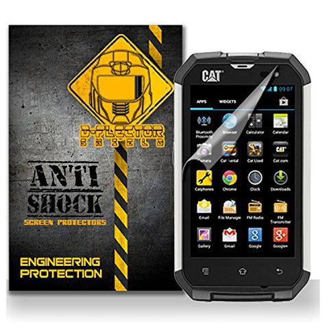CAT B15 Anti-Shock/military grade/ TPU /Premium Screen Protector / self healing / oleophobic material / EZ install / ultra high definition / scratch proof / bubble free install / precise laser cuts