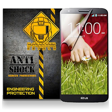 D-Flectorshield LG G2 Anti-Shock/military grade/ TPU /Premium Screen Protector / self healing / oleophobic material / EZ install / ultra high definition / scratch proof / bubble free install / precise laser cuts