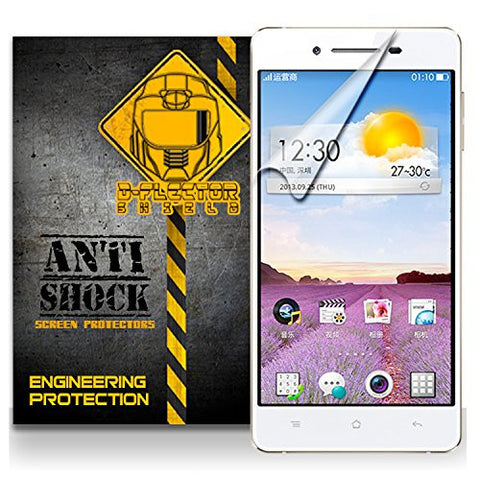 D-Flectorshield Oppo R829T Anti-Shock/military grade/ TPU /Premium Screen Protector / self healing / oleophobic material / EZ install / ultra high definition / scratch proof / bubble free install / precise laser cuts