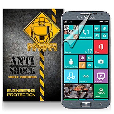 D-Flectorshield Samsung Ativ SE Verizon Anti-Shock/military grade/ TPU /Premium Screen Protector / self healing / oleophobic material / EZ install / ultra high definition / scratch proof / bubble free install / precise laser cuts