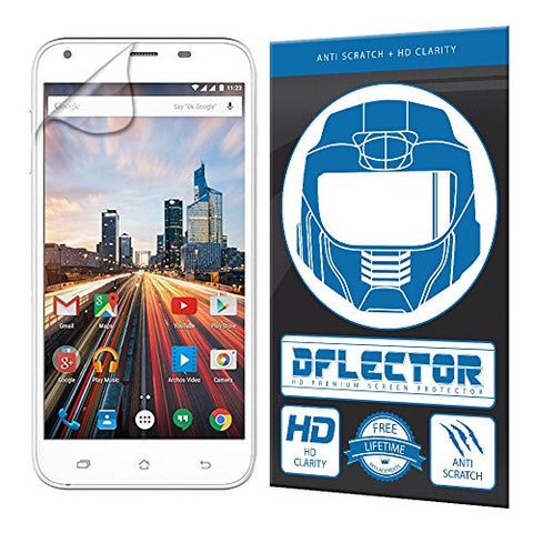 DFlectorshield Screen Protector for the Archos 50 Helium Plus Helium+ with free lifetime replacement program