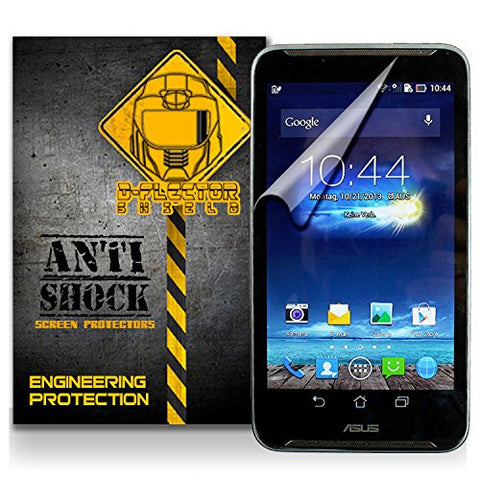 D-Flectorshield Asus Fonepad Note 6 Anti-Shock/military grade/ TPU /Premium Screen Protector / self healing / oleophobic material / EZ install / ultra high definition / scratch proof / bubble free install / precise laser cuts