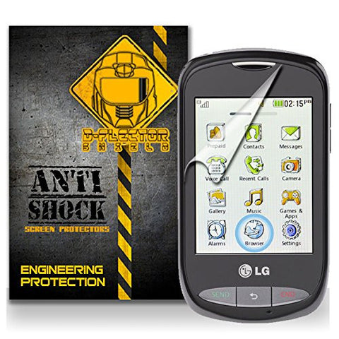 D-Flectorshield LG 800G Anti-Shock/military grade/ TPU /Premium Screen Protector / self healing / oleophobic material / EZ install / ultra high definition / scratch proof / bubble free install / precise laser cuts