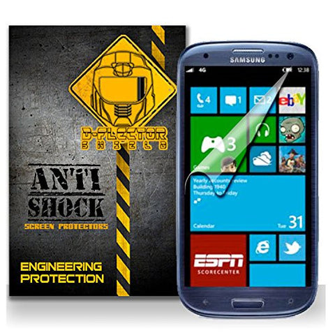 D-Flectorshield SAMSUNG ATIV S NEO Anti-Shock/military grade/ TPU /Premium Screen Protector / self healing / oleophobic material / EZ install / ultra high definition / scratch proof / bubble free install / precise laser cuts