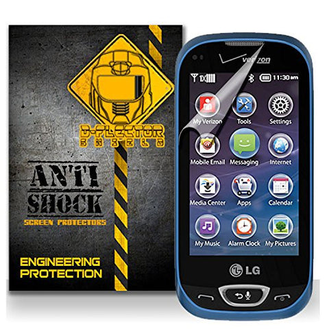 D-Flectorshield LG Extravert 2 Anti-Shock/military grade/ TPU /Premium Screen Protector / self healing / oleophobic material / EZ install / ultra high definition / scratch proof / bubble free install / precise laser cuts