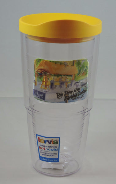Tervis Tumbler 24 oz with travel lid, assorted colors