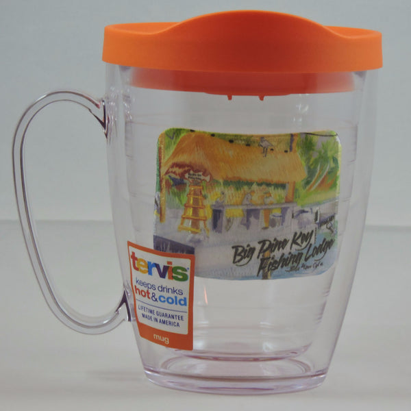 Tervis Mug with travel lid, assorted colors