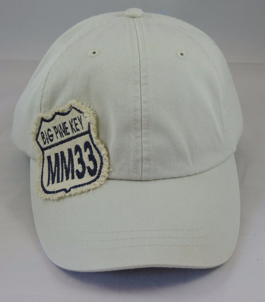 Cotton baseball cap with embroidered BPKFL MM33 patch