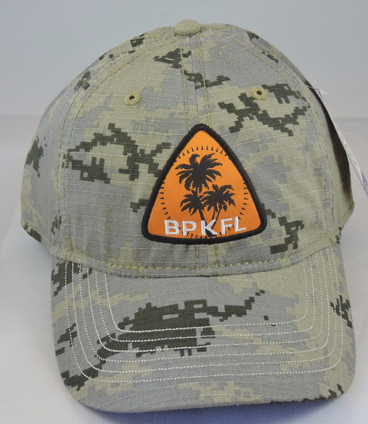 Camouflage baseball cap with BPKFL patch