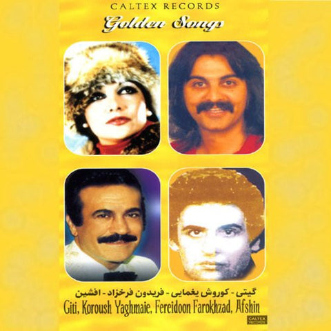 Giti, Fereydoun Farrokhzad, Kourosh Yaghmae, Afshin Golden Songs- 4 CD Box Set