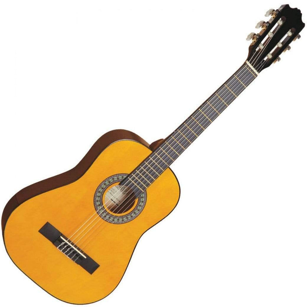 Buy 1/2 Size Natural Kids Classical Nylon Strung Guitar at Guitar Crazy