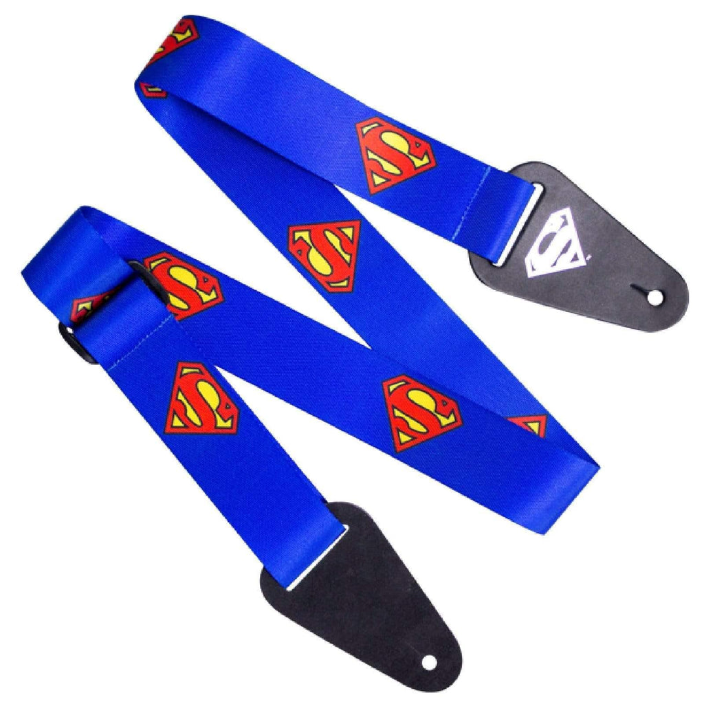 ACCESS ALL AREAS STRAPS Dc Comics Superman Guitar Strap By Access All Areas