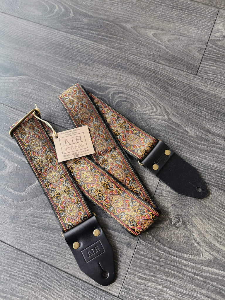 "AIR GUITAR STRAPS AIR Guitar Strap Indus ""Made in the UK"""