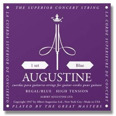 Buy Augustine Regal Blue Classical Strings at Guitar Crazy