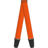 BUCKLE DOWN STRAPS Orange Guitar Strap  By Buckle Down