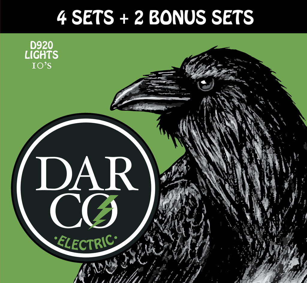 Buy Darco D920 Electric Guitar Strings 6 Pack for the Price of 4 at Guitar Crazy