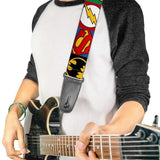 Buy DC Comics Justice League Guitar Strap at Guitar Crazy