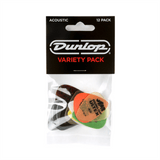 DUNLOP PICKS Jim Dunlop Acoustic Variety 12 Pack