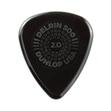 Buy Dunlop Picks - Delrin 500 Prime Grip 2.00mm - Players Pack 12 at Guitar Crazy