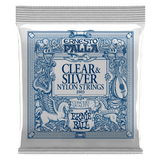 Buy Ernie Ball EP 2403 Nylon Clear & Silver Classical Guitar Strings at Guitar Crazy