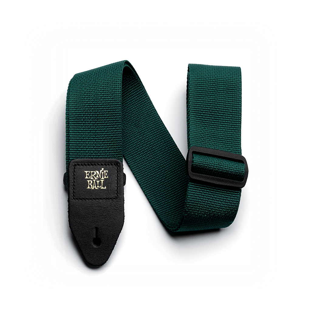 Buy Ernie Ball Polypro Green Guitar Strap at Guitar Crazy