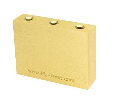 Buy FU Tone 42mm Brass Sustain Big Block for Floyd Rose Tremolo at Guitar Crazy