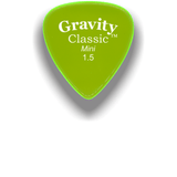 GRAVITY PICKS Gravity Guitar Pick Classic Mini 1.5mm Polished