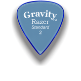 GRAVITY PICKS Gravity Guitar Pick Razer Standard 2mm Unpolished