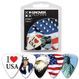 GROVER ALLMAN PICKS Grover Allman Usa Guitar Picks