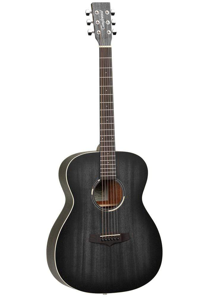 Guitar Crazy Tanglewood Black Bird Series Orchestra Acoustic Guitar